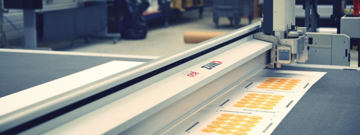 Table de découpe numérique Zund G3 XL 3200